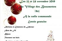 Marché de Noël 2019 des Créateurs - Les Beaumettes (84)