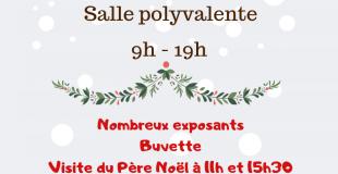 Marché de Noël 2019 de Saint-Gence (87)