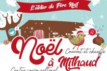 Marché de Noël 2019 - L'atelier du Père-Noël - Milhaud (30)