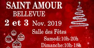 Marché de Noël 2019 de Saint-Amour-Bellevue (71)