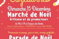 Marché de Noël 2019 à Cazedarnes (34)