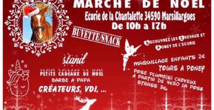 Marché de Noël 2019 - Ecurie de la chantalette Marsillargues (34)