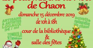 Le Petit Marché de Noël 2019 de Chaon (41)