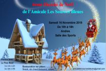 6e Marché de Noël de l'Amicale les Sources Bleues - Andres (62)