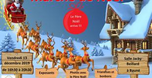 Marché de Noël 2019 de Bauné (49)