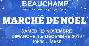 Marché de Noël 23ème édition à Beauchamp (95)