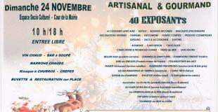 Marche de Noël Artisanal et Gourmand 2019 à Orvilliers-Saint-Julien (10)