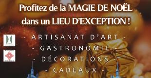 1er Marché de Noël au Château de Digoine - Palinges (71)