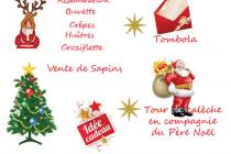 Marché de Noël 2019 du sou des écoles à Rovon (38)