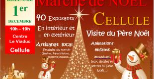 Marché de Noël artisanal 2019 de Chambaron sur Morge (63)