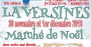 Marché de Noël 2019 de Laversines (60)