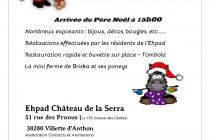 Marché de Noël 2019 a Villette-d'Anthon (38)