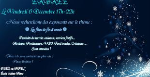Marché de Noël 2019 d'Erbrée (35)