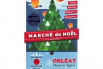 10ème Edition du Marché de Noël d'Orléat (63)