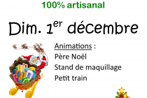 Marche de Noël 100% artisanal 2019 de Chantemerle les bles (26)