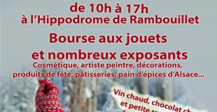 Marché des lutins 2019 à l'hippodrome de Rambouillet (78)