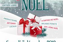 Marché de Noël 2019 à Sirod (39)