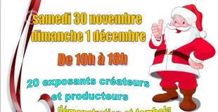 Marché de Noël 2019 des Créateurs et Producteurs à Ménerbes (84)