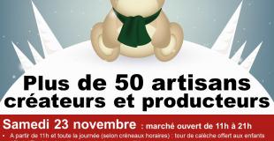 Marché de Noël 2019 d'Asnières-lès-Dijon (21)