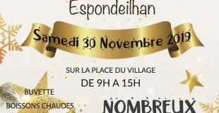 Marché de Noël 2019 à Espondeilhan (34)