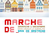 Marché de Noël 2019 de Bain de Bretagne (35)
