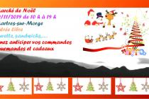 Marché de Noël 2019 aux Martres sur Morge (63)