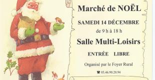 Marché de Noël 2019 de Saint-Savinien sur Charente (17)
