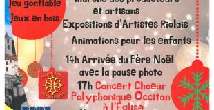 6ème Marché de Noel de Riols (34)