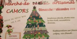 Marché de Noël 2019 artisanale à Camors (56)