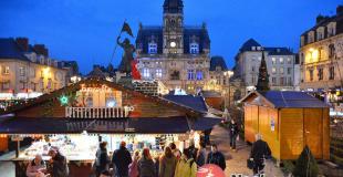 Marché de Noël 2019 de Compiègne (60)