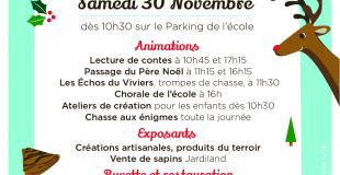 Marché de Noël 2019 de Viviers du Lac (73)