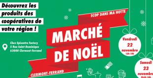 Marché de Noël 2019 : Scop dans ma hotte ! - Clermont-Ferrand (63)