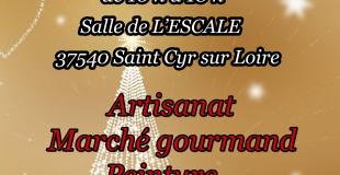 Marché de Noël 2019 de Saint Cyr sur Loire (37)