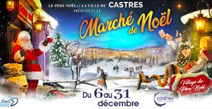 Marché de Noël 2019 à Castres (81)