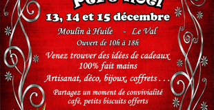 Les Ateliers du Père Noël 2019 à Le Val (83)