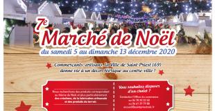 Marché de Noël 2020 de Saint-Priest (69)