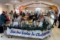 Marché de Noël du Sou des écoles Clochemerle 2020 - Vaux-en-Beaujolais (69)