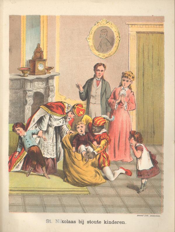 Saint-Nicolas et le père Fouettard