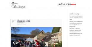 Féerie de Noël 2017 à Villarceaux (95)