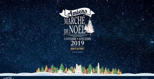 Marché de Noël 2017 d'Amiens (80)