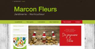 Marché de Noël 2018 à la Jardinerie Marcon fleurs - Sathonay-Village (69)