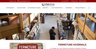 Marché de Noël 2018 au Village du Livre à Sablons (33)