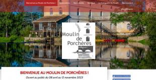 Marché de Noël 2019 au Moulin de Porchères (33)