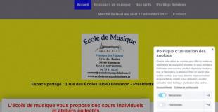 Marché de Noël 2019 de Blasimon (33)