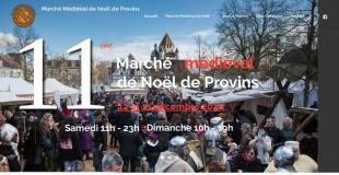 Marché Médiéval de Noël 2016 de Provins (77)