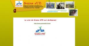 Marché de Noël 20106 de Graine d'ID à la La Roche sur Yon (85)