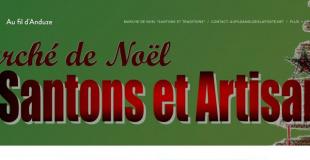 Marché de Noël - Santons et traditions 2017 à Anduze (30)